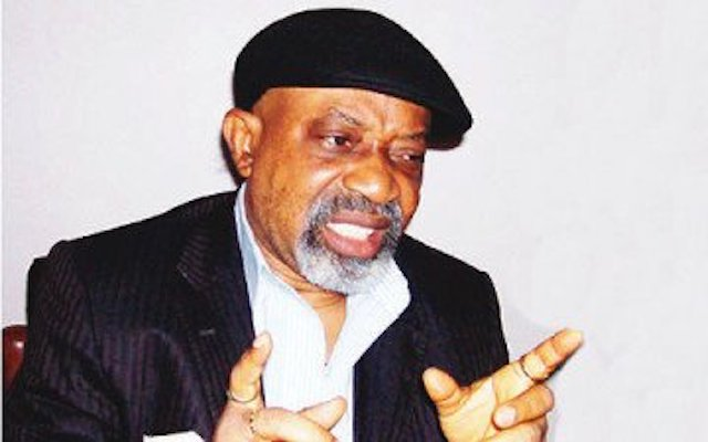 Chris Ngige, labour minister and productivity