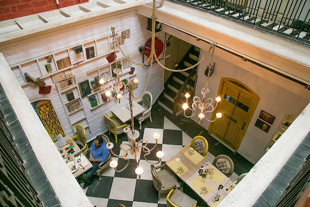 Review boutique hotel the Corner Courtyard Kolkata india
