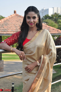 Angana Roy in Silk Saree at Teaching Tree Carnival .xyz 015.JPG