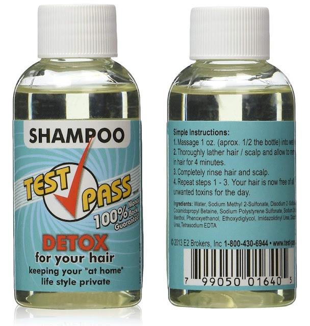 Test Pass Detox Shampoo