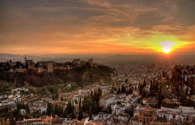 Mirador de San Nicolás em Granada