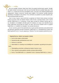 5. Sınıf Kuranı Kerim Ders Kitabı Cevapları Mevsim Yayınları Sayfa 16