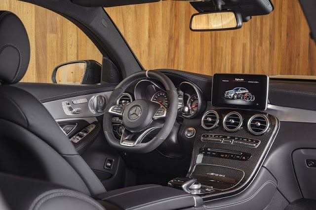 2018 Mercedes Benz AMG GLC63 S Coupe Interior