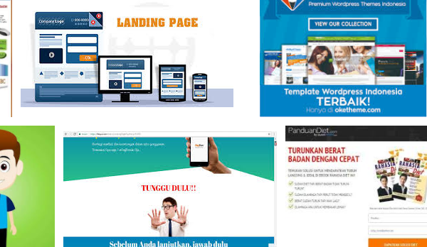 Keuntungan Landing Page untuk Internet Marketing Bagi Pebisnis Online