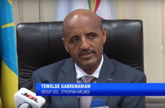 Tewolde Gabremariam - Group CEO, Ethiopian Airlines.