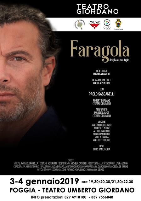 """Una performance per non dimenticare Faragola. Paolo Sassanelli racconta la """"denuncia"""" di ciò che è andato perso"""