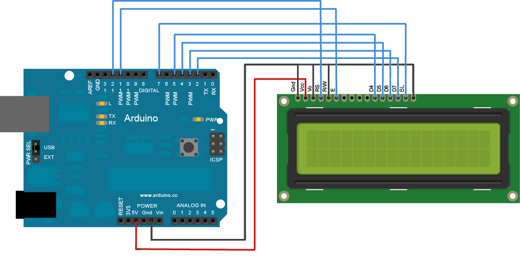 Arduino Code Arduino Lesson 12 LCD Displays - Part 2
