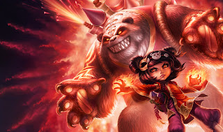 Panda Annie Splash Art