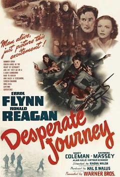 Jornada desesperada   1942   Desesperate Journey   Caratula - Cine clásico