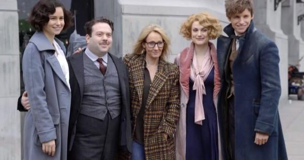 David Yates revela a reação de JK Rowling à primeira exibição de Animais Fantásticos