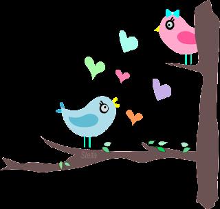 Love birds - criação Stella