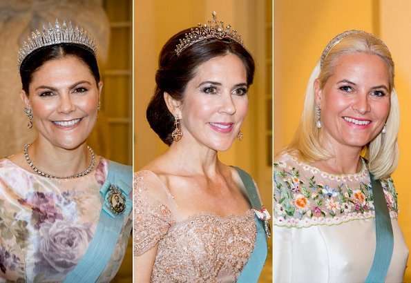 Crown Princess Victoria, Crown Princess Mary, Crown Princess Mette-Marit