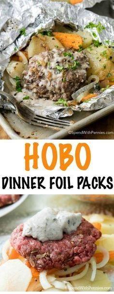 Hobo Dinner Foil Packets