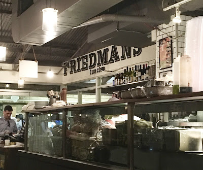 Friedman's Lunch Review (Chelsea Market)