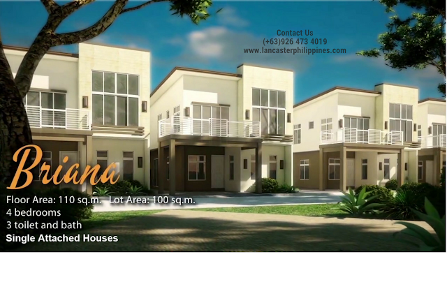 Briana - Lancaster New City Cavite | House and Lot for Sale Imus-General Trias Cavite