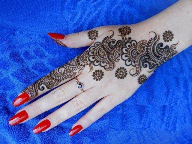 karva chauth mehndi designs galleries