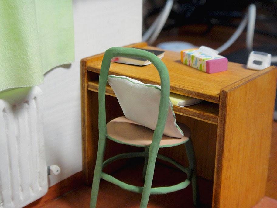 Maqueta personalizada gabinete de psicologia regalo personal artesania