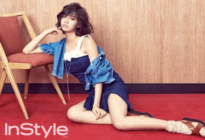 Hyeri Girl's Day InStyle March 2016
