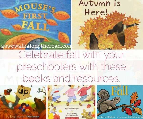 Fall books and fall activities for preschoolers