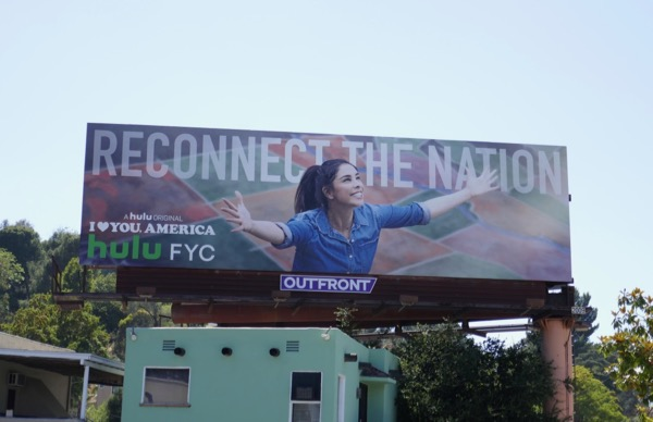 I Love You America Reconnect the nation Emmy FYC billboard