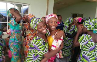 Chibok Girls reunite