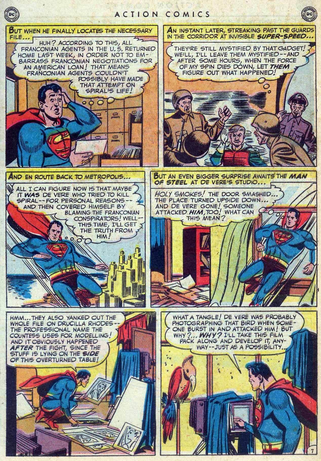 Read online Action Comics (1938) comic -  Issue #155 - 9