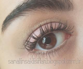 İlkbaharı Anımsatan Soft Lila-Yeşil Tonlarında Göz Makyajım