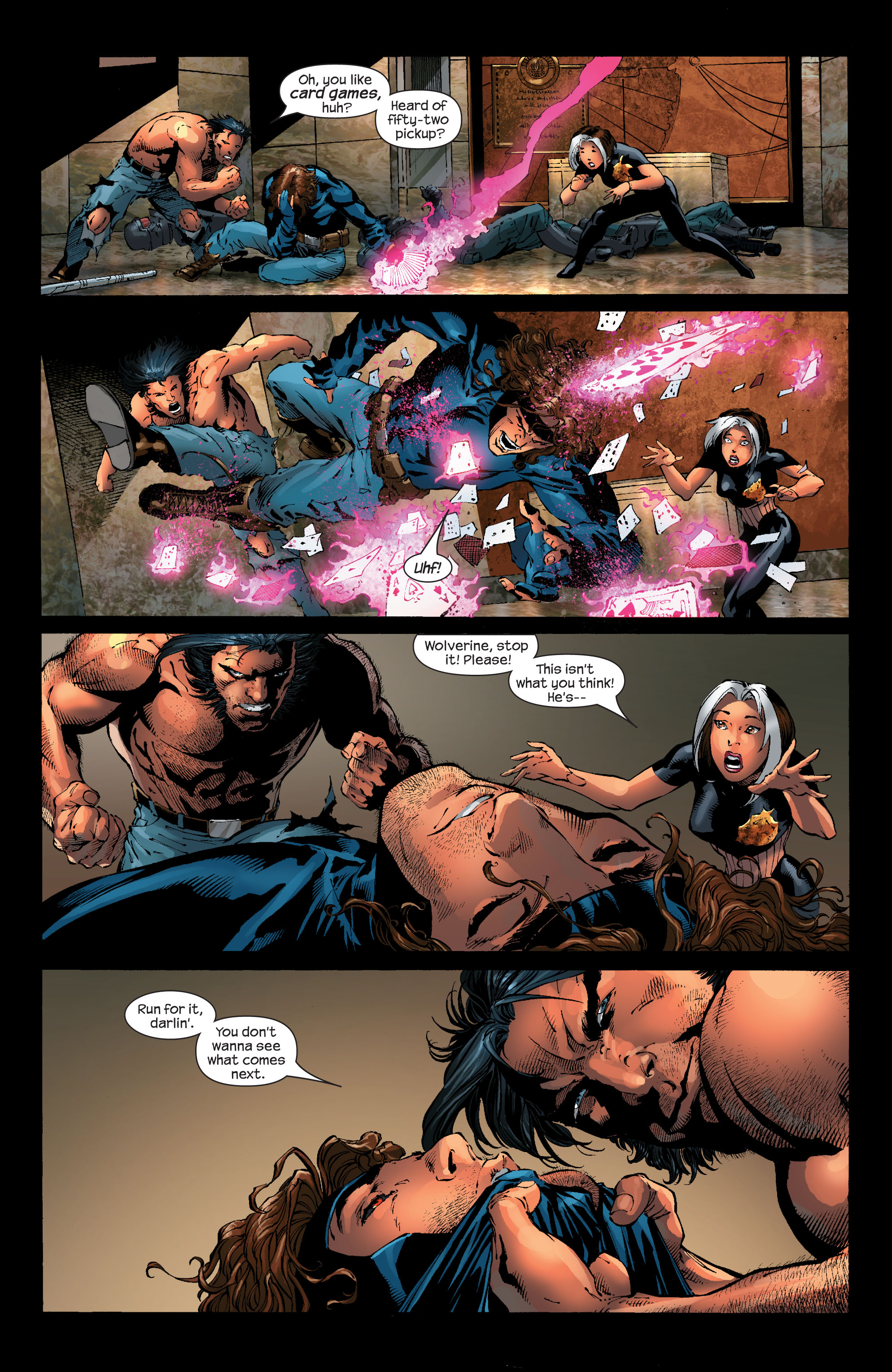 Read online Ultimate X-Men comic -  Issue #53 - 7