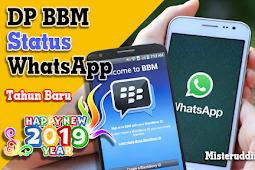 DP BBM & Status WhatsApp Happy New Year 2019