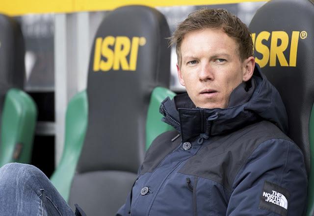 Julian Nagelsmann dalam tekanan setelah serangkaian hasil buruk diperoleh Hoffenheim.