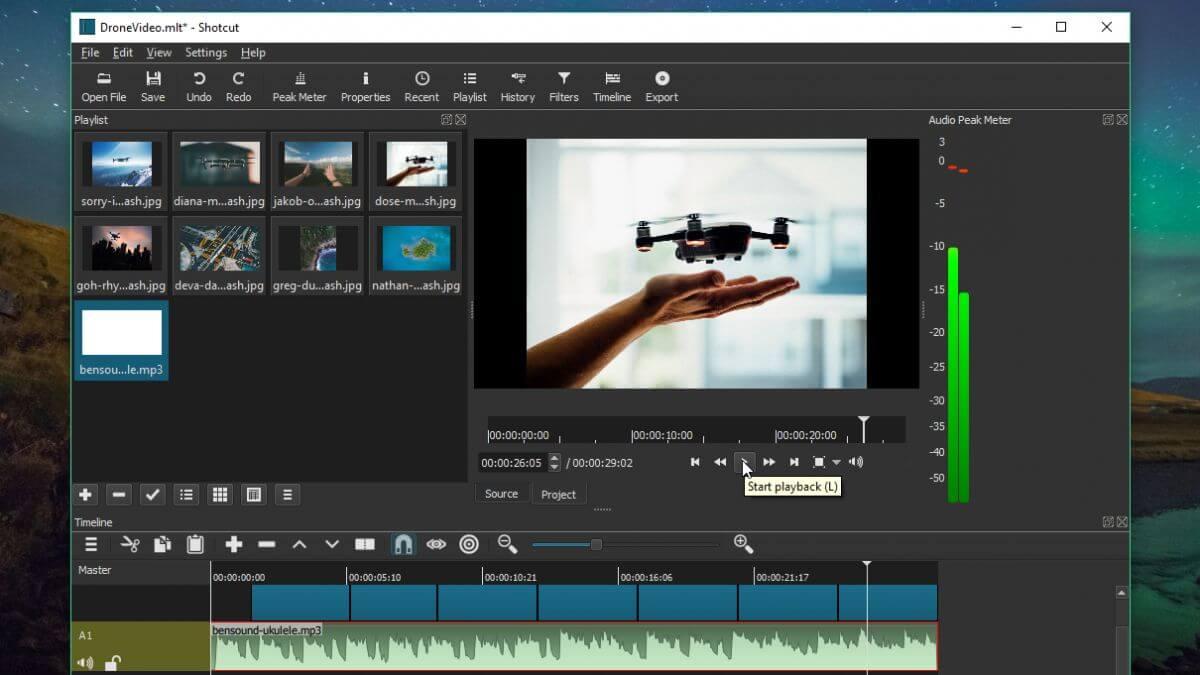 تحميل برنامج مونتاج فيديو سهل الاستعمال Shortcut 2021 مجاني للكمبيوتر