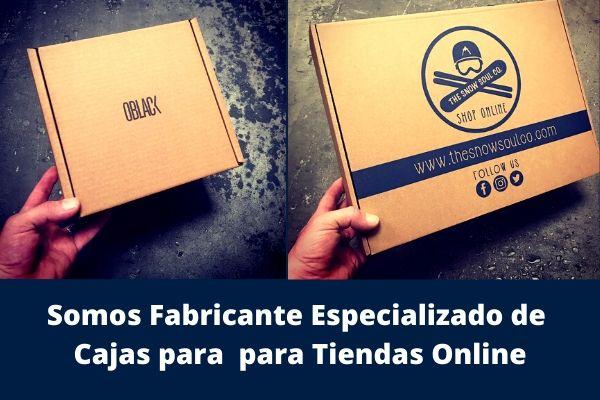 Fabricante especializado en cajas de cartón para tiendas online