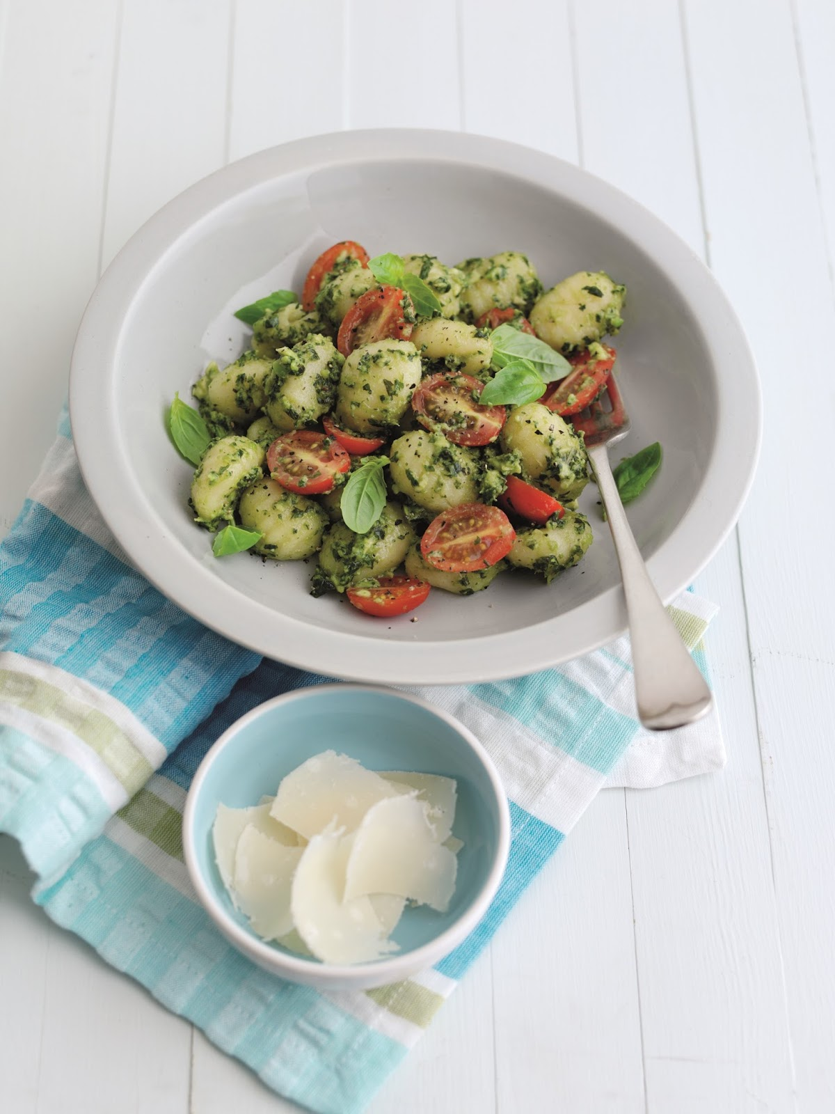 Summer Gnocchi With Avocado Pesto And Tomatoes...
