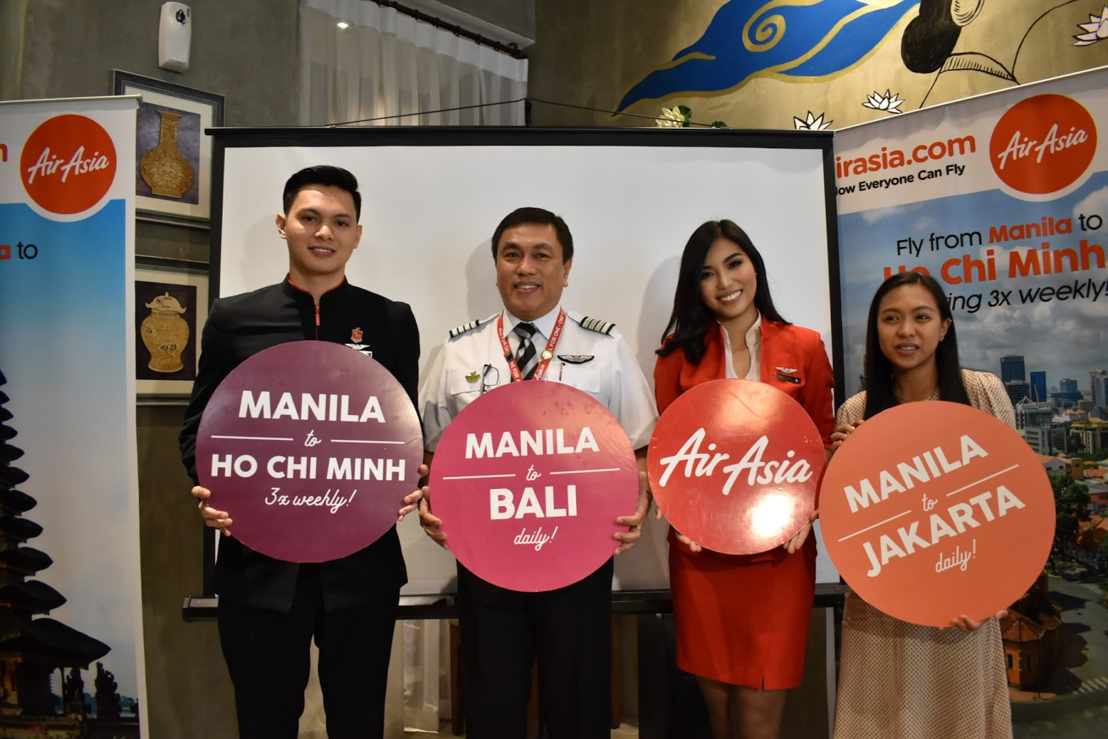 Airasia Expands Asean Connectivity With New Flights From Manila To Jakarta Singapore Bali And Ho Chi Minh City