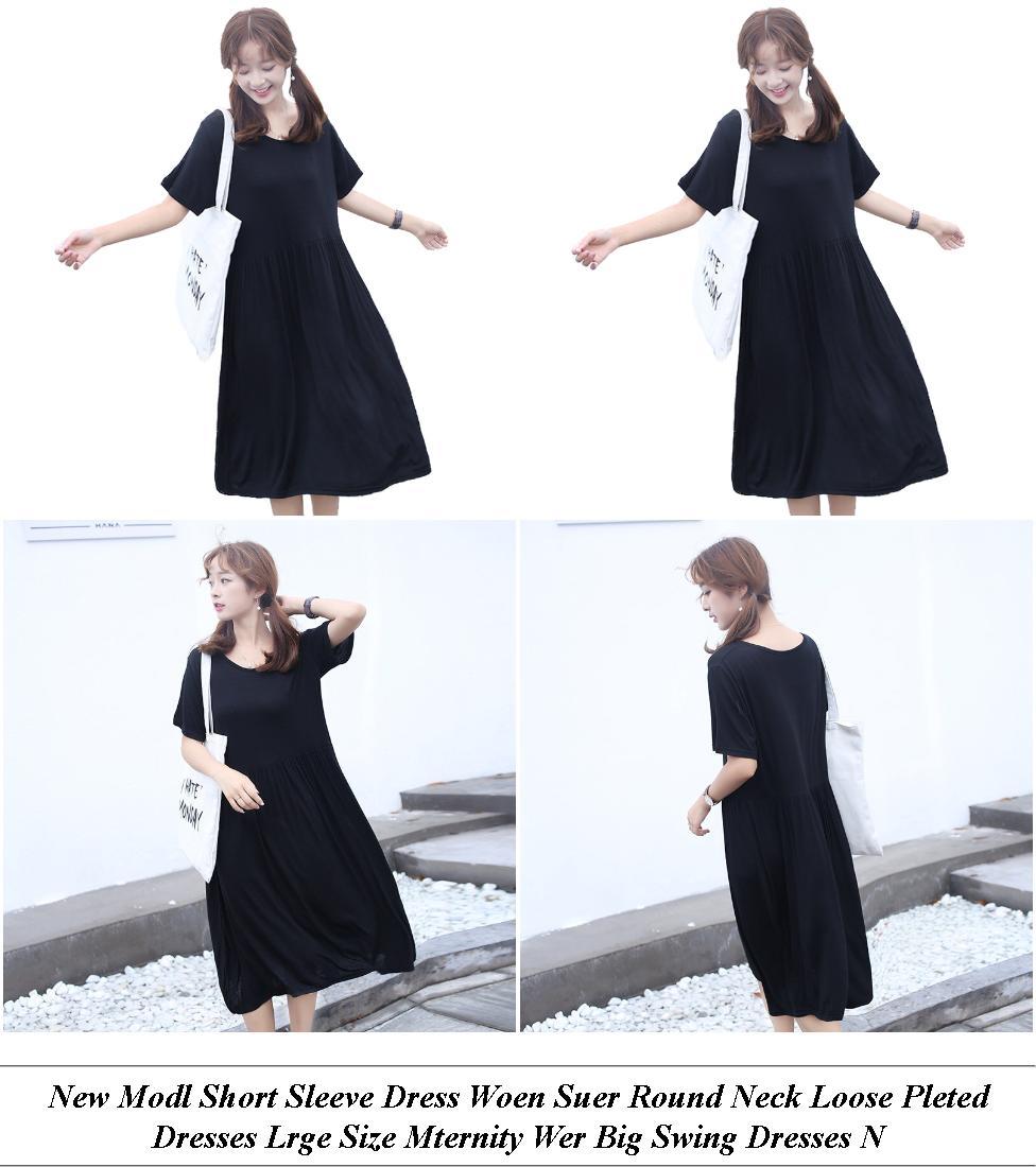 Plus Size Semi Formal Dresses - Sale Shop Online - Long Sleeve Dress - Cheap Womens Clothes