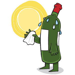 wine global warming italy