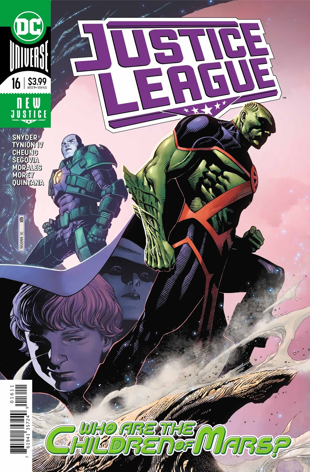 Justice League #16 Review