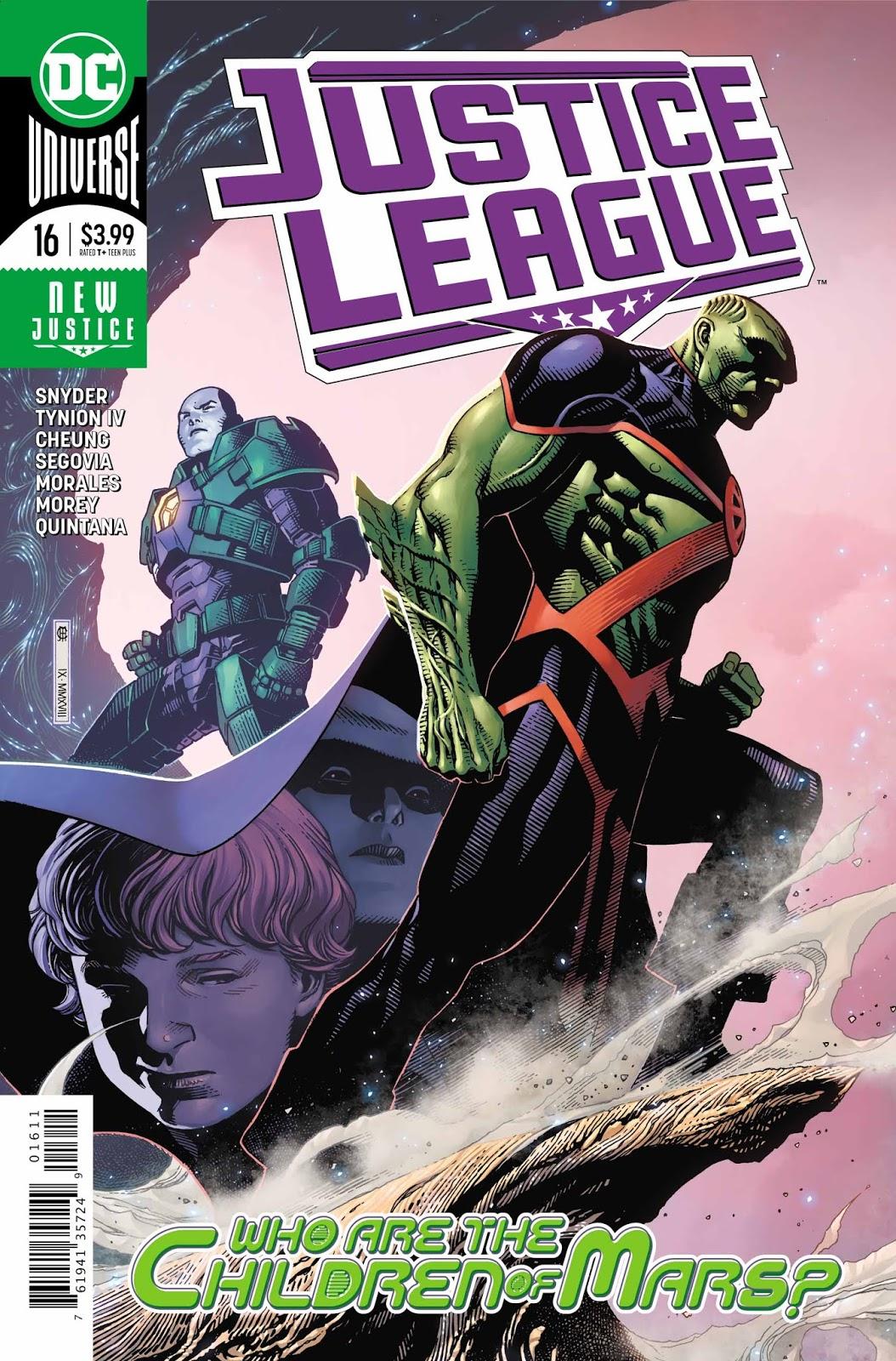 Justice League #16 Review