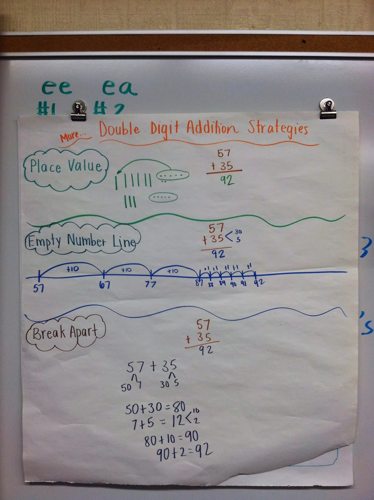 Team J S Second Grade Fun Addition And Subtraction Strategies