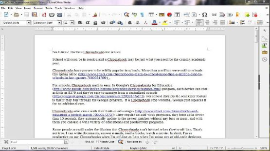 LibreOffice screenshot 4