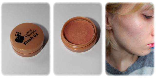 Swatch Blush Mini Bourjois Teinte 03