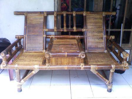 52 Desain Kursi Panjang Dari Bambu Terbaik