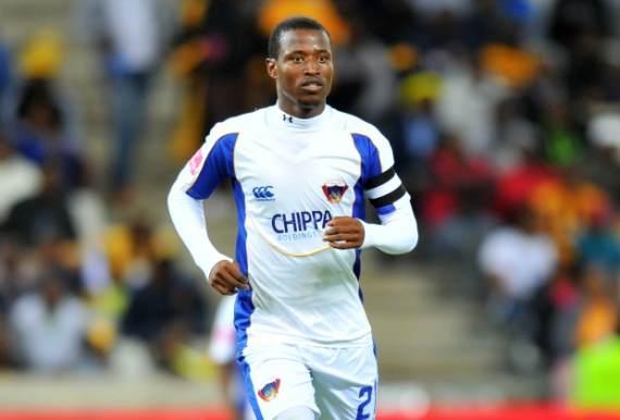 Chippa United midfielder Thamsanqa Sangweni