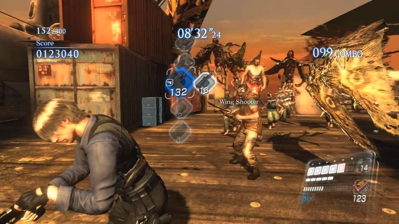تحميل لعبة resident evil 6 للكمبيوتر