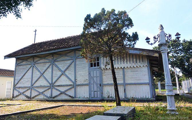 Bangunan Stasiun Lama Maguwo masih kokoh
