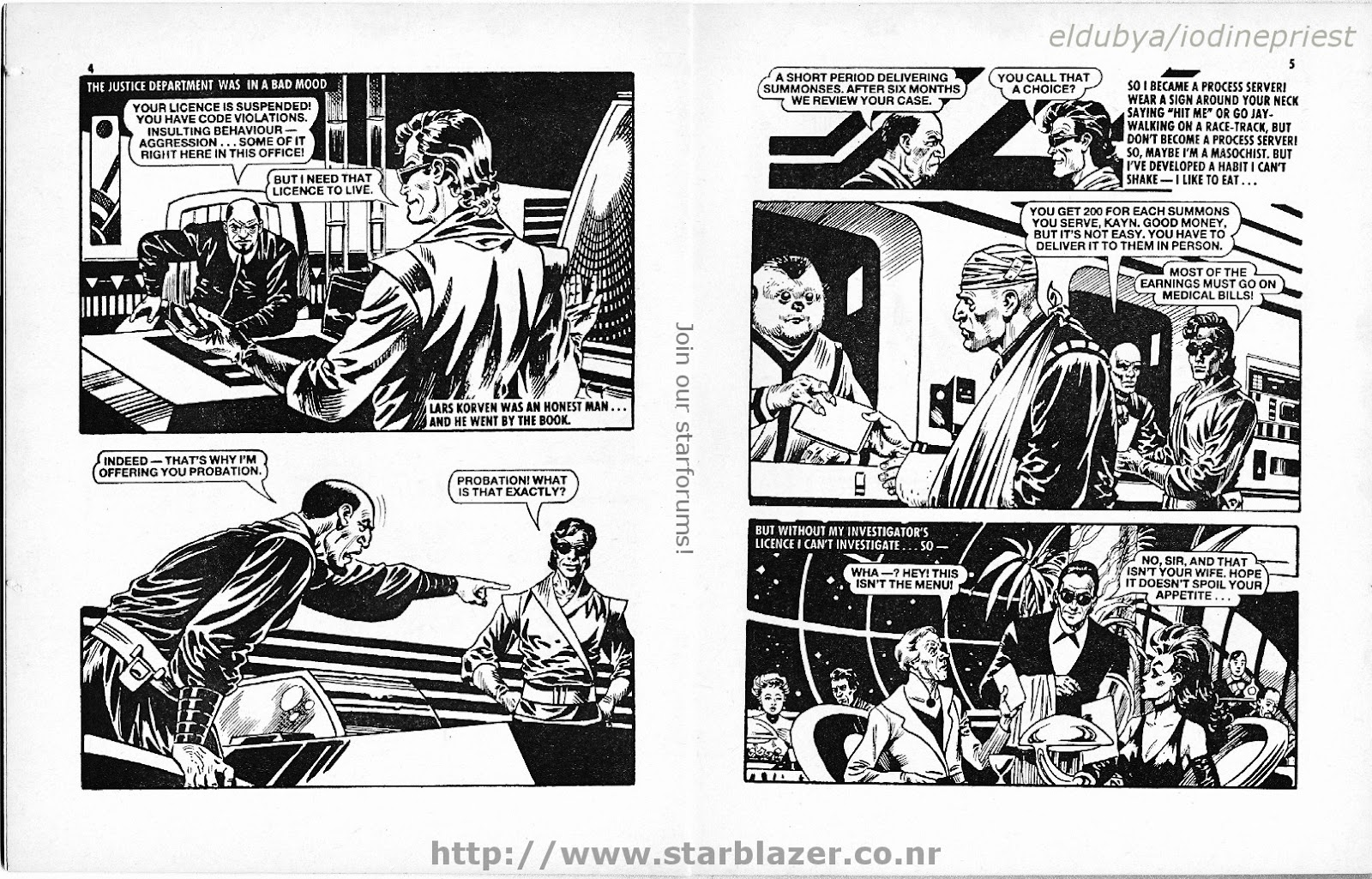 Starblazer issue 207 - Page 4