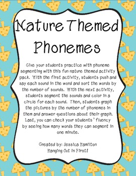 http://www.teacherspayteachers.com/Product/Phoneme-Segmenting-Nature-1000626