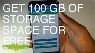 زيادة مساحة هاتفك الي 100 جيجا مجربة ومضمونة