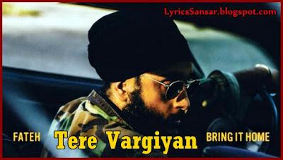 Tere Vargiyan (Your Type) : Fateh Doe & Mickey Singh | Bring It Home