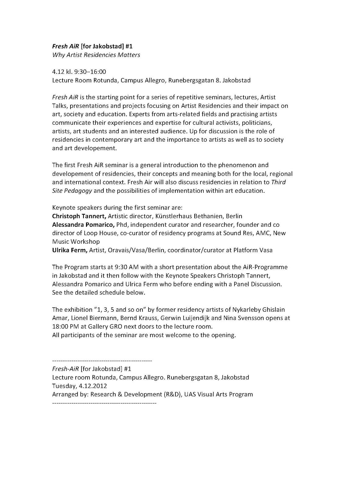 künstlerhaus bethanien residency programme